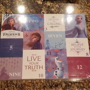 Frozen 2 Socks- 12 Days of Socks